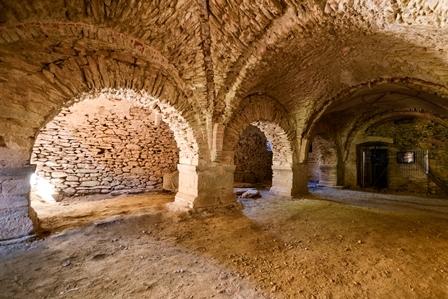 Santuario San Costanzo a Monte (Villar San Costanzo) - Cripta