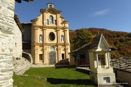 Santuario di Marsaglia a Monastero di Lanzo