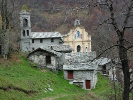 Veduta Santuario di Marsaglia a Monastero di Lanzo
