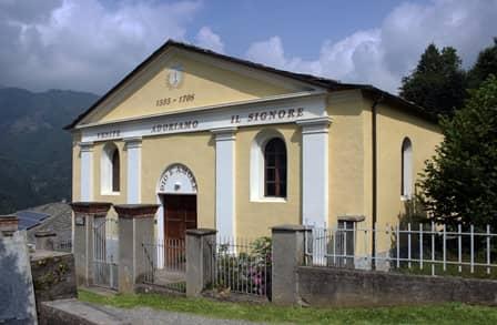 I valdesi - Tempio di San Lorenzo di Angrogna